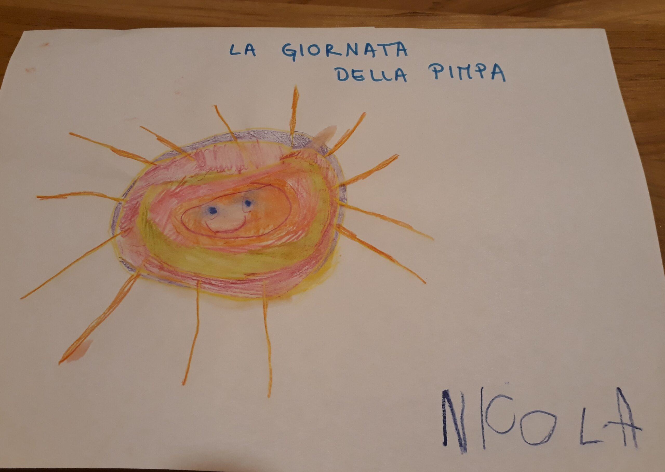 il disegno di Nicola
