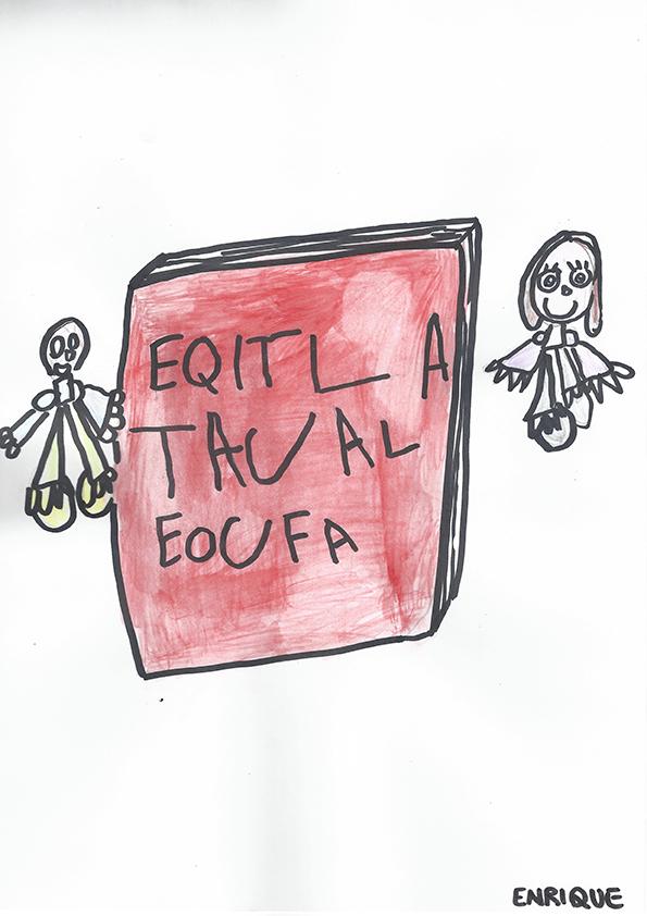 Il disegno di Enrique