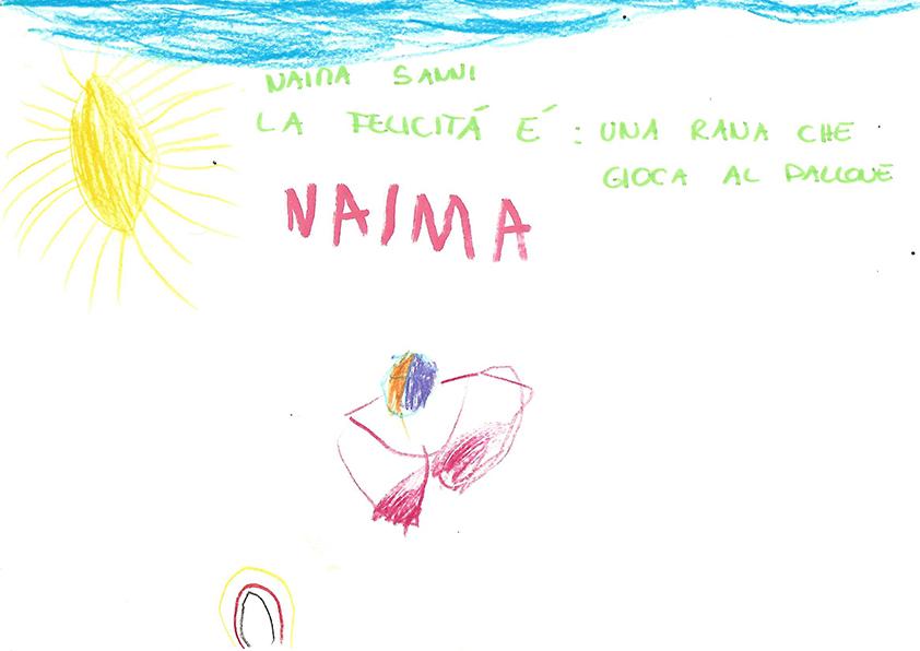 Il disegno di Naima